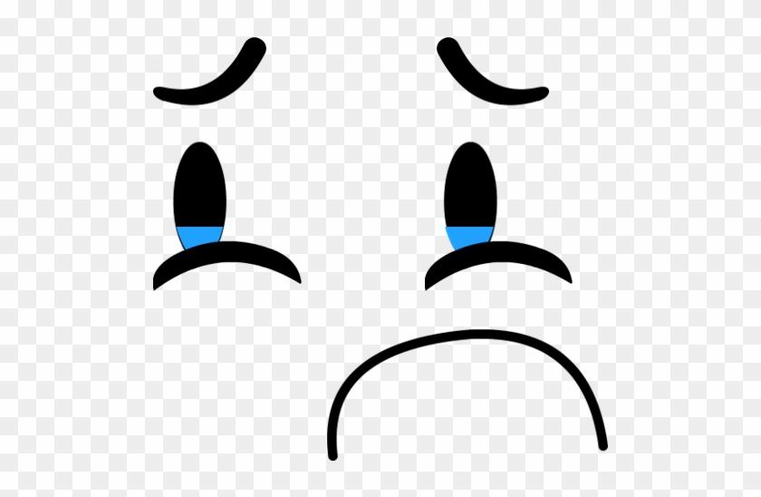 Math Book Sad Face - Bfdi Sad Eyebrow #410739