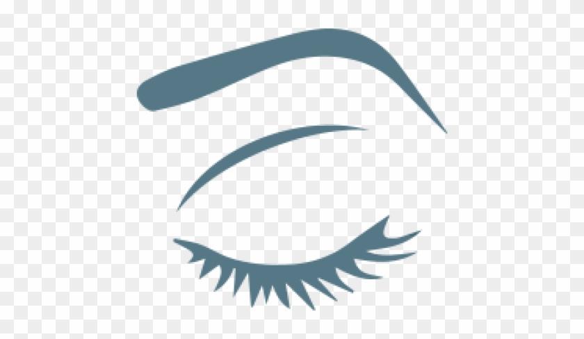 Eyebrow And Eyelash Care - Eyes With Lashes Svg #410834