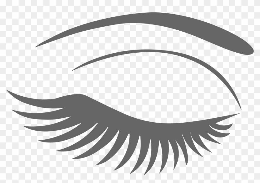 Eyelash Extensions - Eyebrow And Lash Png #410882