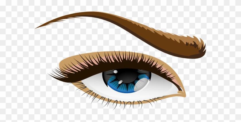 Brown Eyes Clipart Human Eye - Human Eye Clip Art #411012
