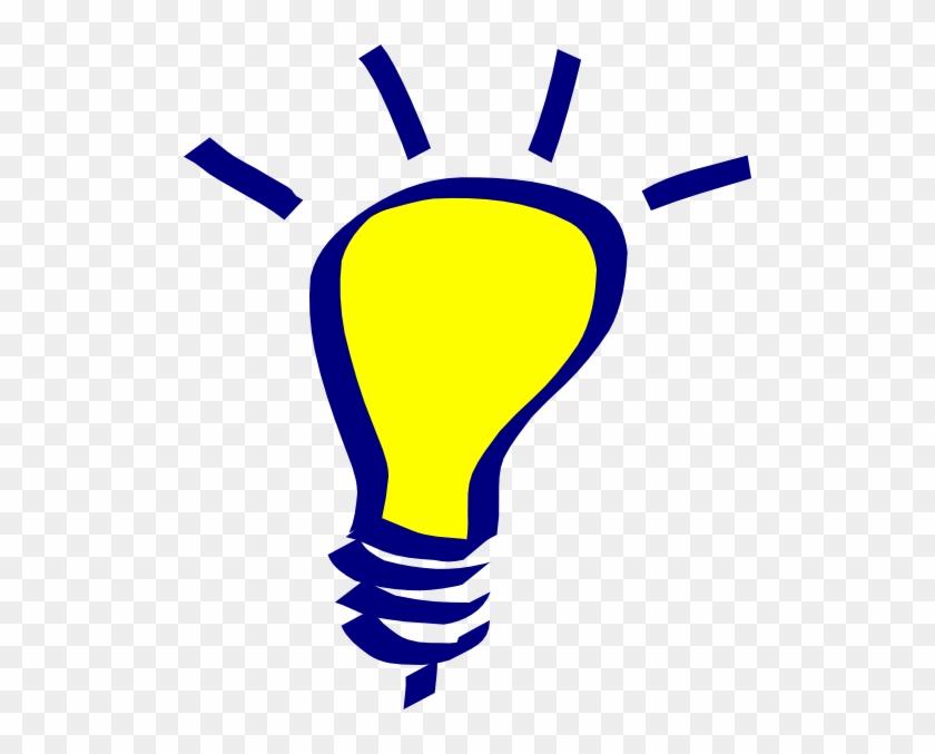 Solution Clipart Solution Hi - Light Bulb Clip Art #411261