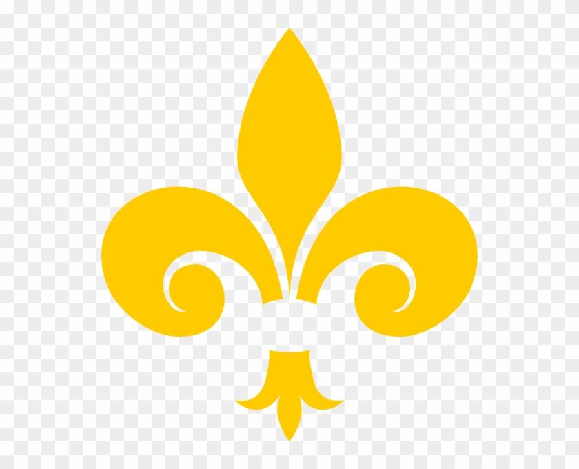 Gold Fleur De Lis #411462