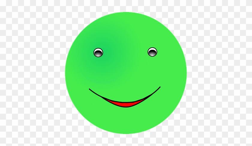 Smiley émoticône Clipart Cartoon Visage Vert Content Smiley Orange