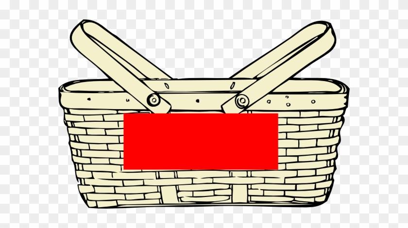 Picnic Basket Clip Art Png - Picnic Basket Clip Art #411627