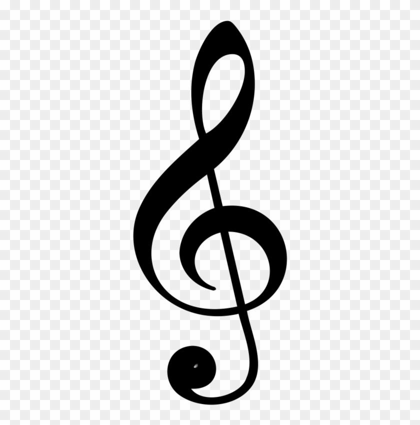Musique Portees Music Symbols Treble Clef Free Transparent Png