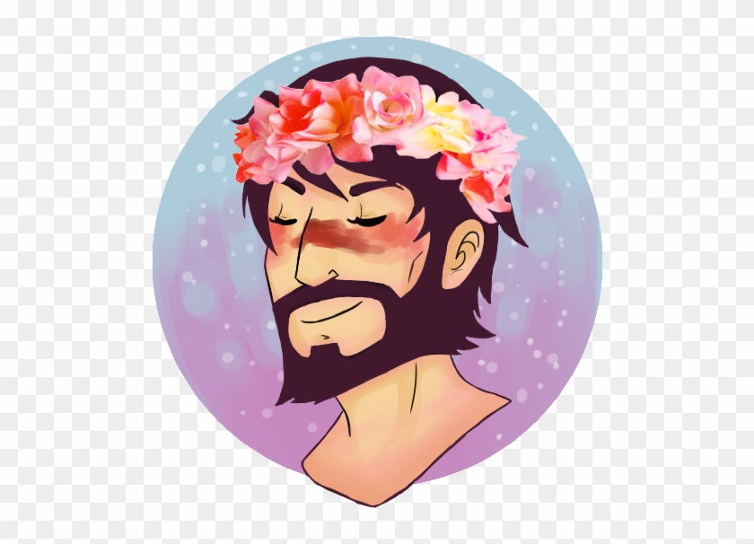 Flower Crown For The Champion By 1000butts On Deviantart - Dragon Age - Champion Of Kawaii Unisex T-shirts #412309