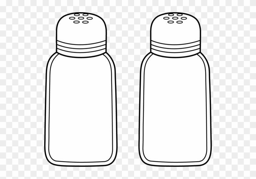 Salt - Clipart - Salt Shaker Clip Art #412531