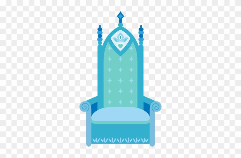 Princesas E Fadas - Princess Throne Clipart #413129