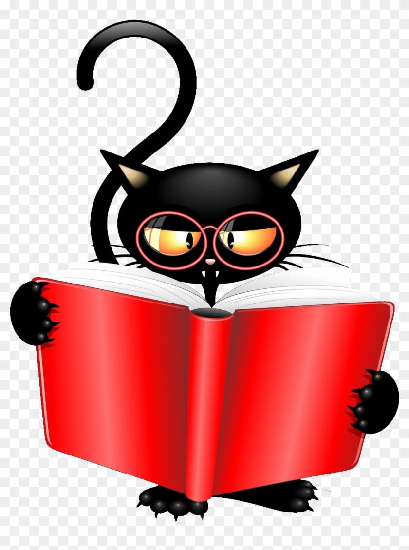 Tubes Halloween Ecrire Un Nouvel Article - Black Cat Book Characters #413279
