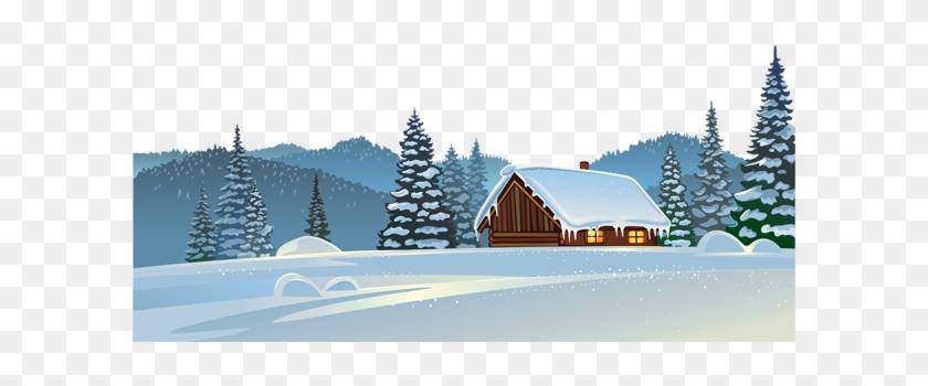 Snowy Ground Cliparts - Snow On Ground Transparent #413376