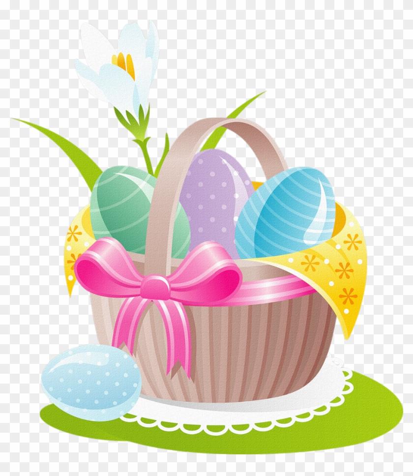 Easter Egg Basket Large Tote Bag, Natural, Large #413665