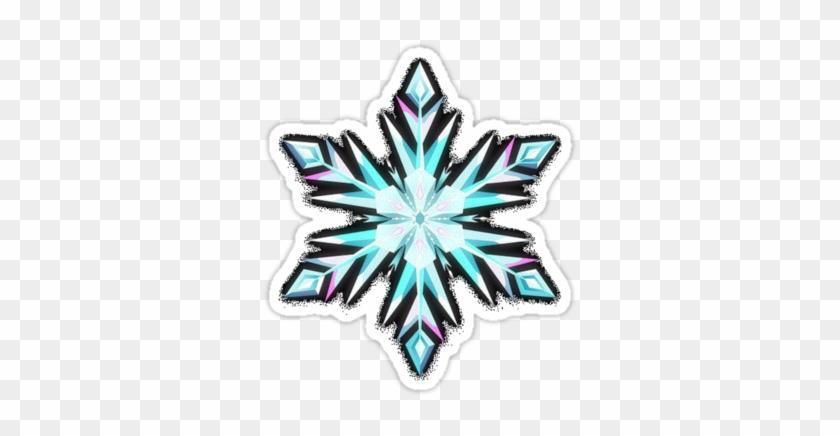 Frozen Snowflakes - Elsa's Snowflake Frozen #413735