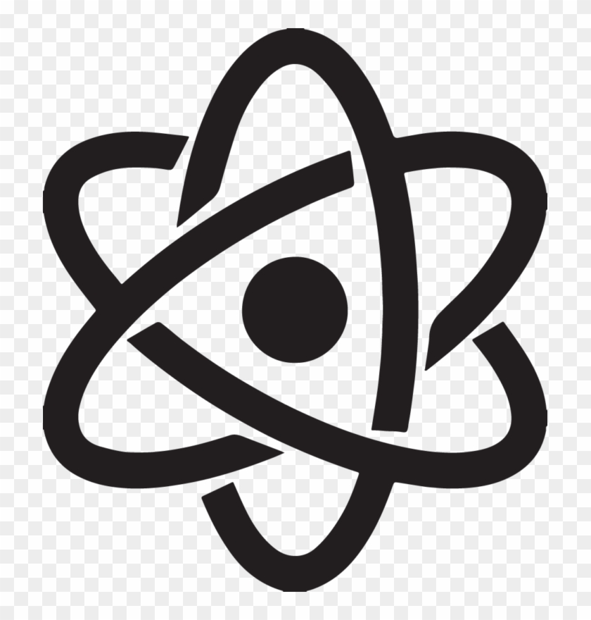 Free Atom Symbol Clip Art Hd Images - Science Icon Png #413771