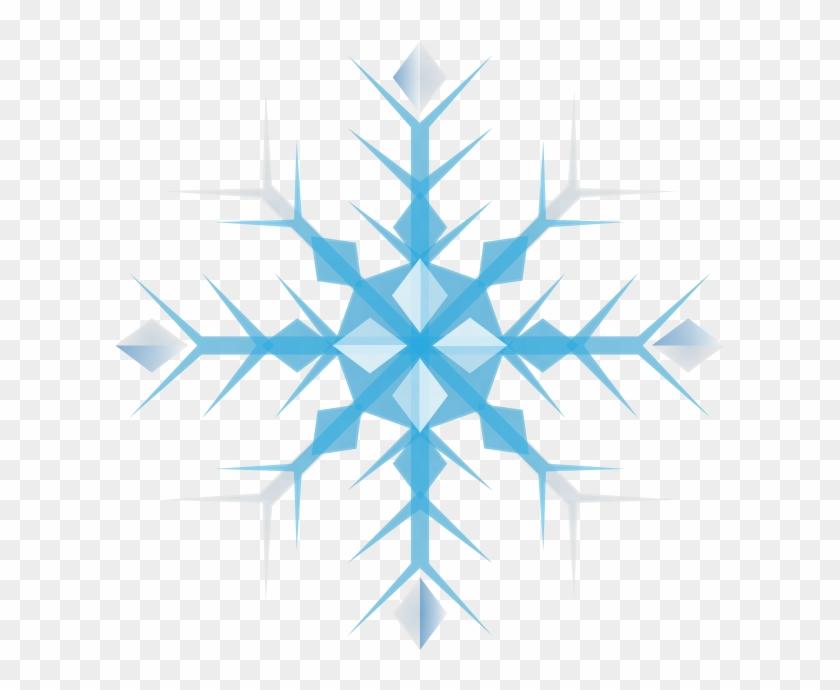 Christmas Snowflakes Clipart Free - Snowflake Free Clip Art #413939