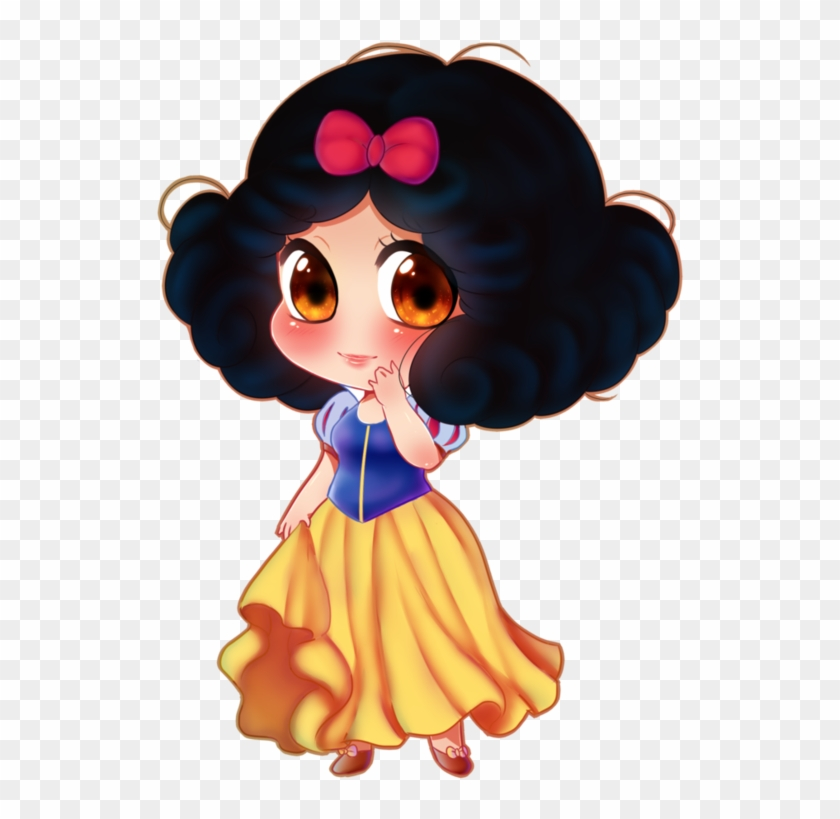 Disney Princess Hair Bow Download - Snow White Chibi #414014