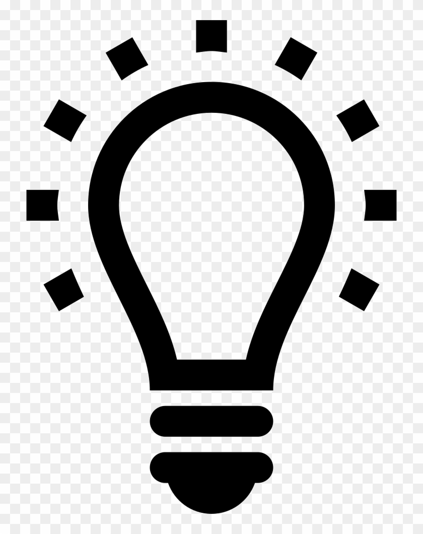 Png File - Light Bulb Icon Vector #414037