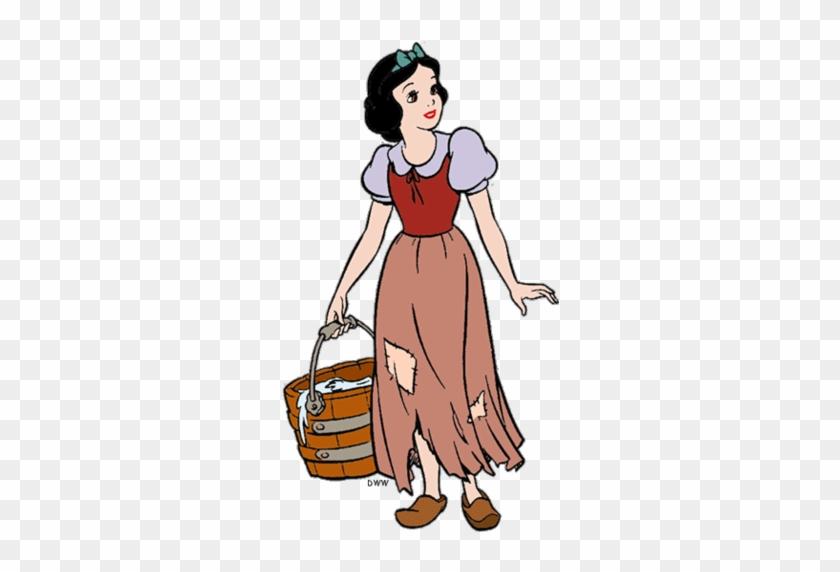 Snow White And The Seven Dwarfs Wallpaper Containing - Snow White And The Seven Dwarfs #414038