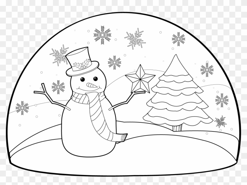 Winter Clipart Winter Scenery