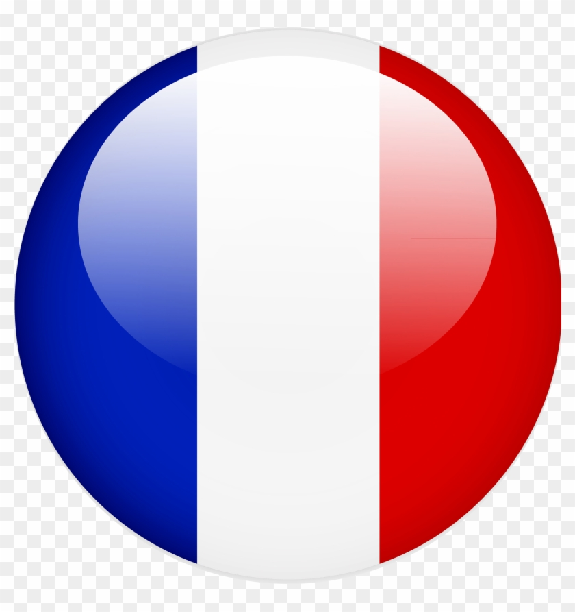 Drapeau Rond french lessons & conversations with a native speaker - drapeau