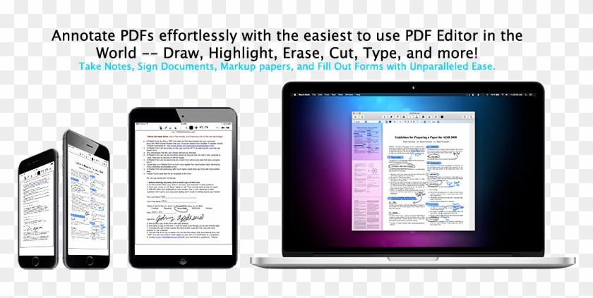 Mach Note The Icloud Pdf Editor, M4a Audio Recorder, - Rich