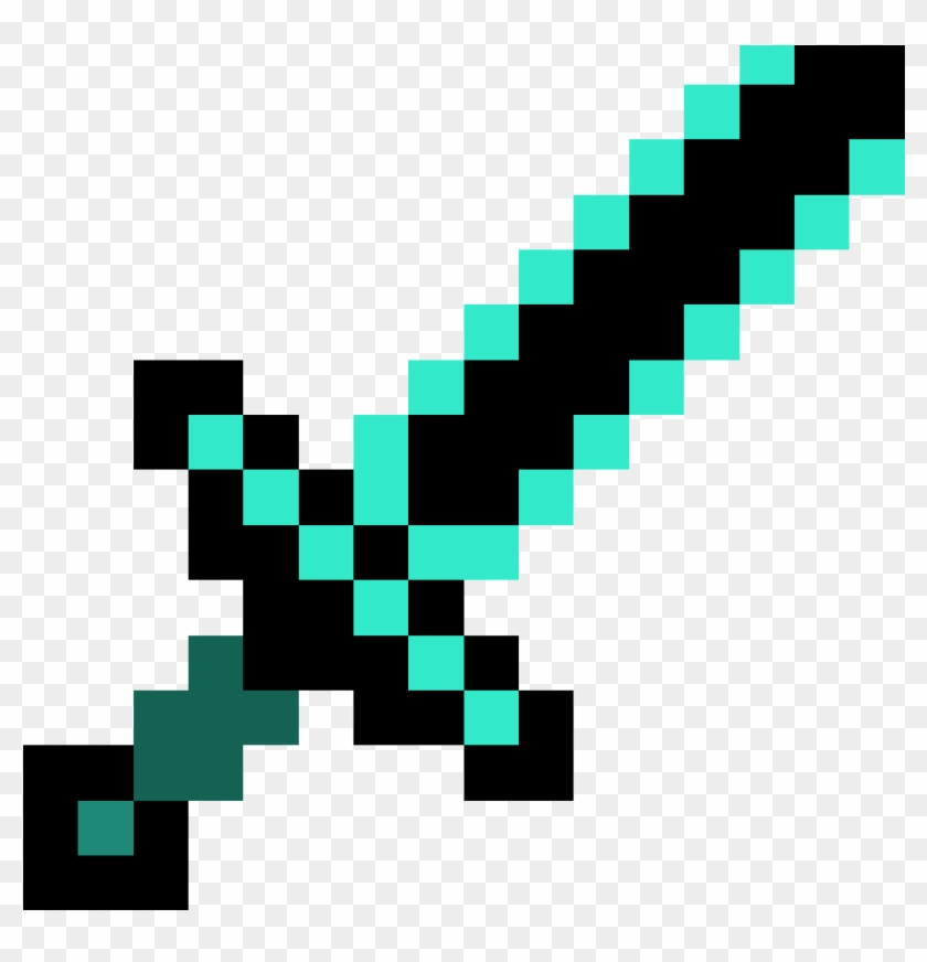 Minecraft Sword - Minecraft Gold Sword Png #414545