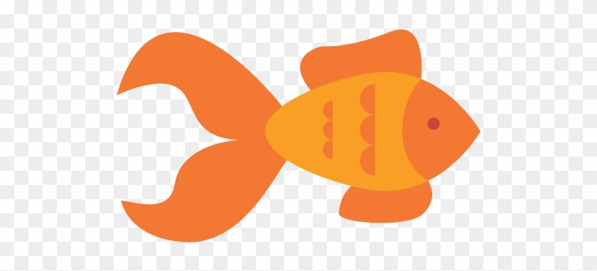 Goldfish Clipart Aquatic Animal - Goldfish Svg #414627