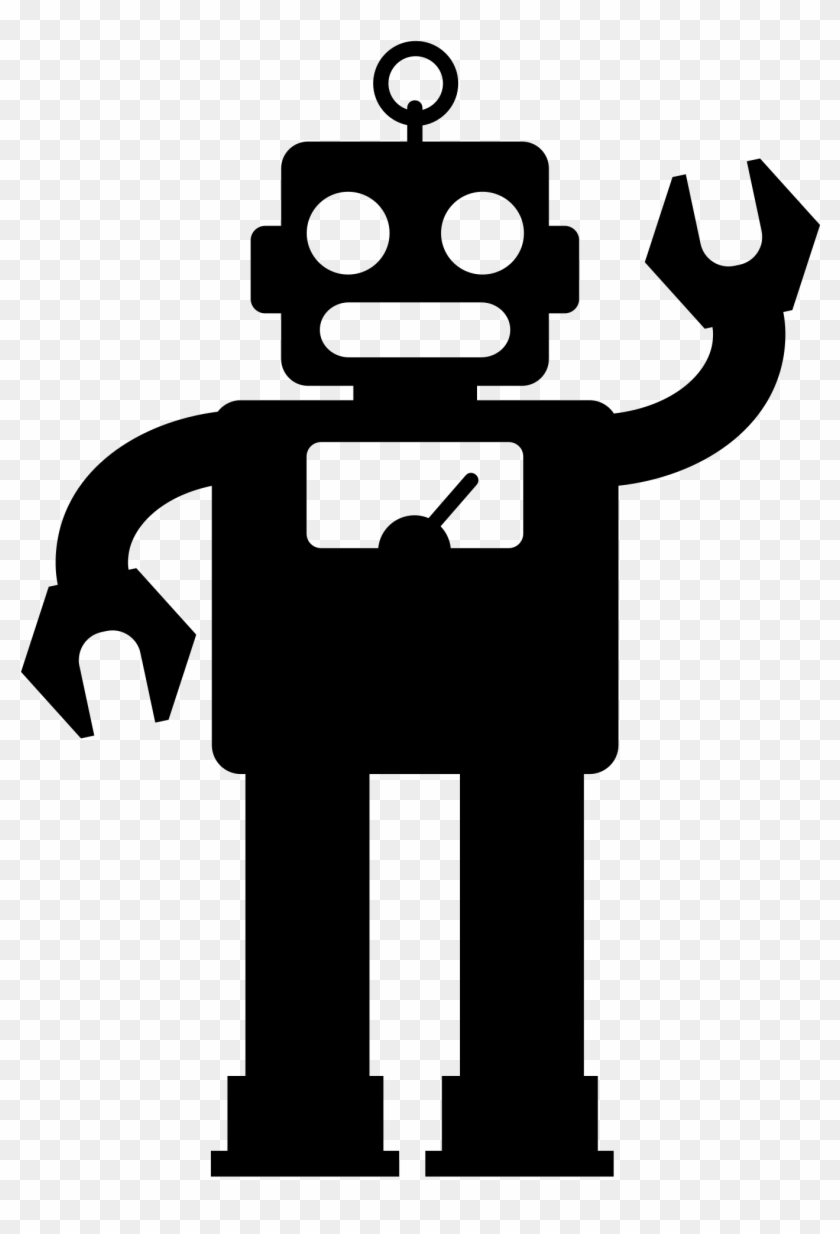 Open - Robot Face Cartoon - Free Transparent PNG Clipart Images Download