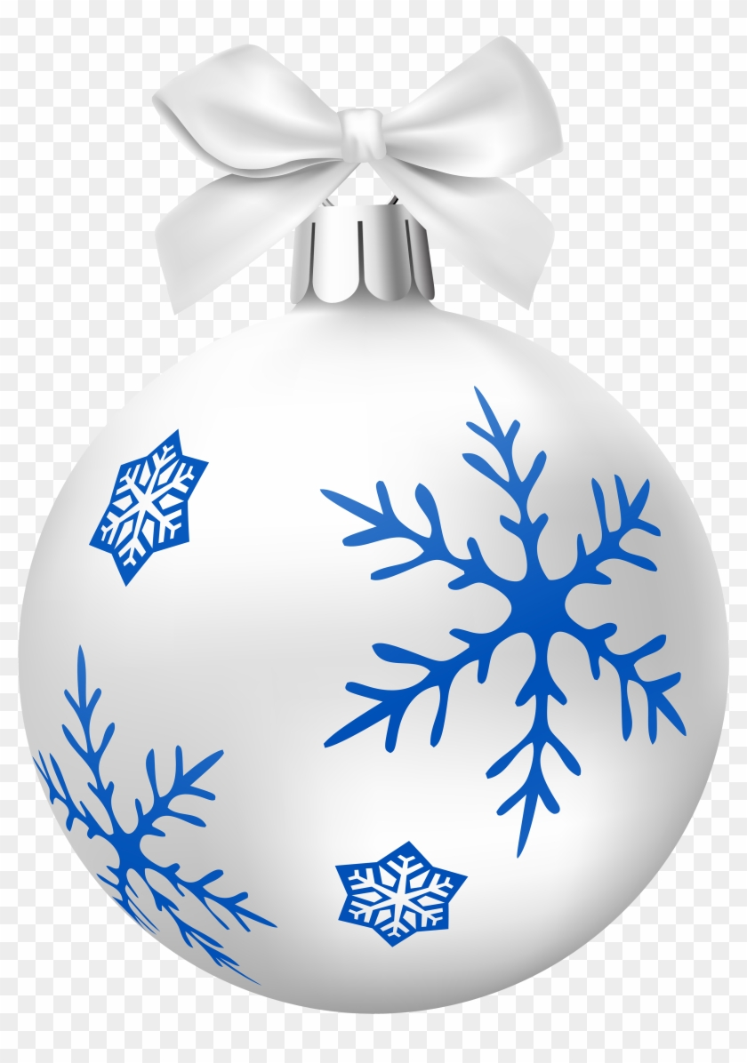 White Christmas Balls Png Clip Art - Christmas Ornament - Free ...