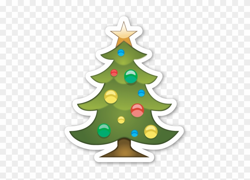 Christmas Tree Christmas Tree Emoji Png Free Transparent Png Clipart Images Download