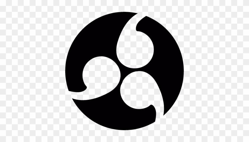 japanese symbol family crest kamon vector simbolo japones de la