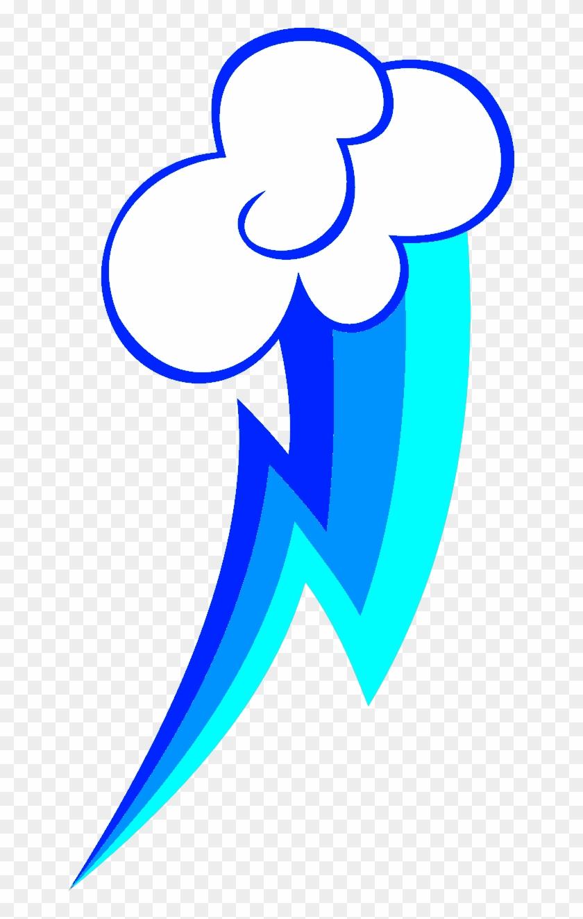 Blood Thunder Cutie Mark By Stormgemios1343 Rainbow Dash Cutie