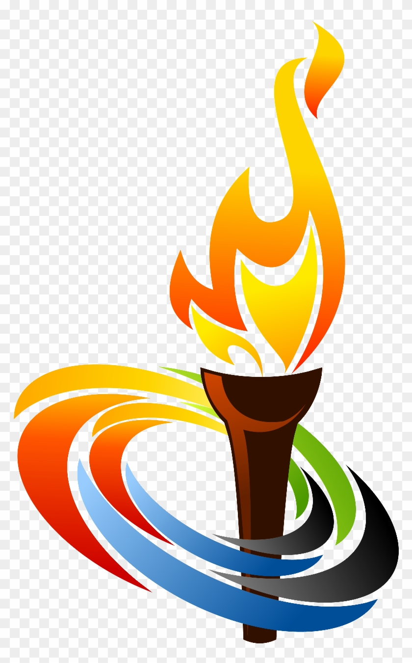 Sport Clipart Torch Olympic Torch Png Free Transparent Png