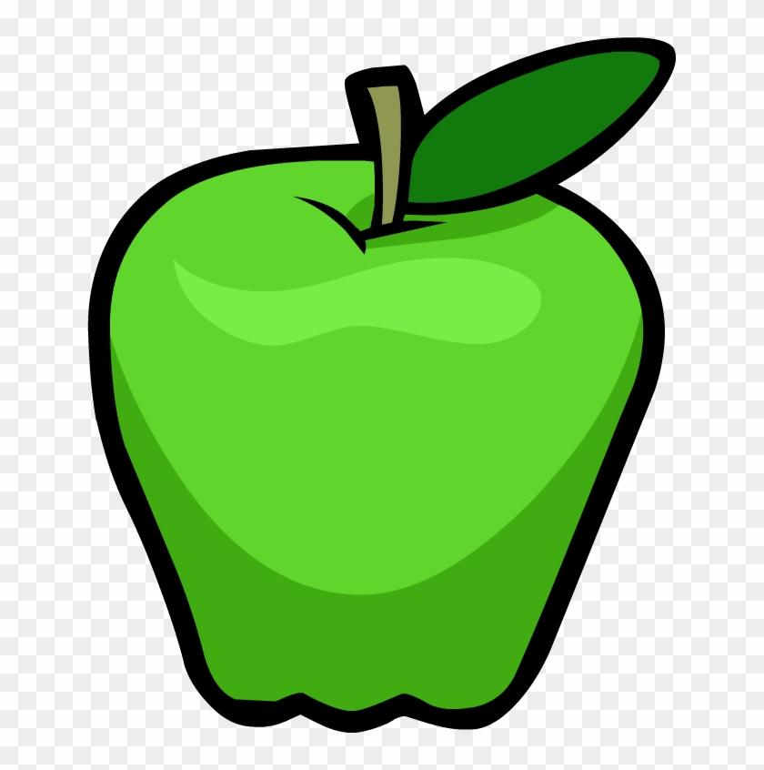 203 × 240 Pixels - Clip Art Green Apple #416927