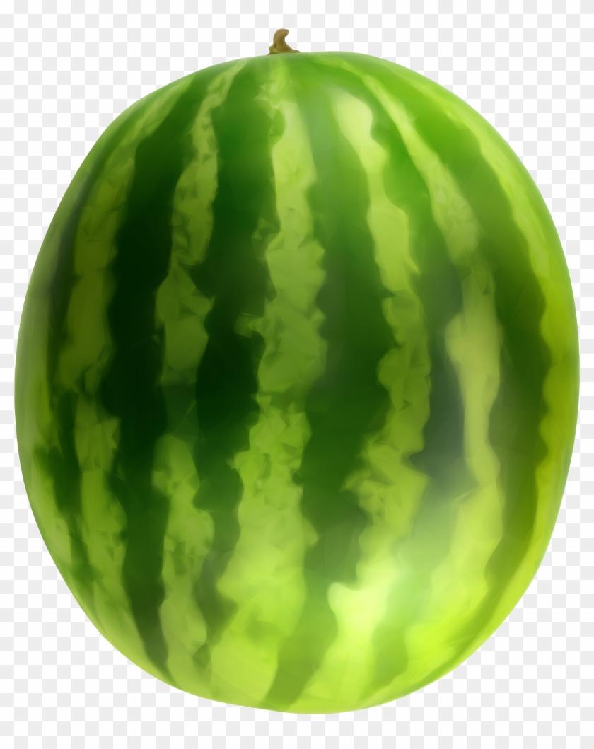 Watermelon Clipart Transparent - Watermelon Png #417606