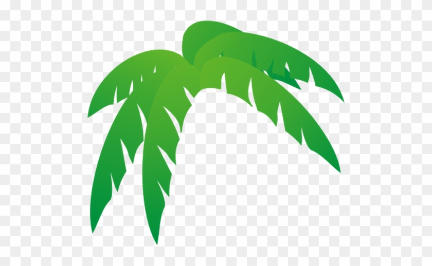 Palmera De Hojas Ilustración Vectorial - Palm Tree Leaves Clip Art ...