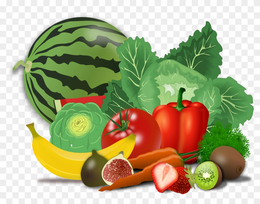 Vegetables Free Vegetable Clipart Pages Of Public Domain - Healthy Food Png #417792