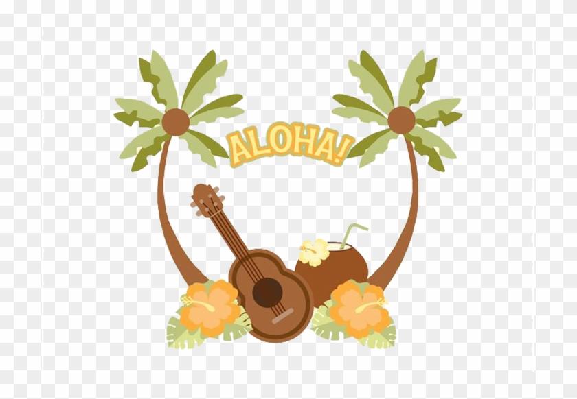 Hawaiian Ukulele Illustration Hawaiian Vector Free Transparent Png Clipart Images Download