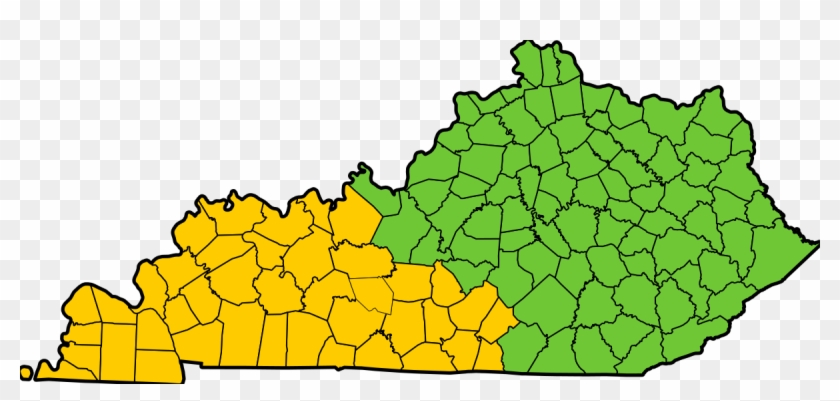 Map Of Kentucky Counties - Free Transparent PNG Clipart Images Download