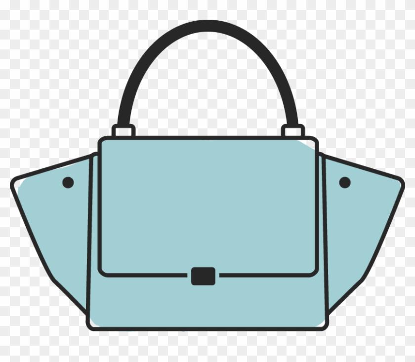 Designer Handbag Clipart - Designer Handbag Clip Art #418259
