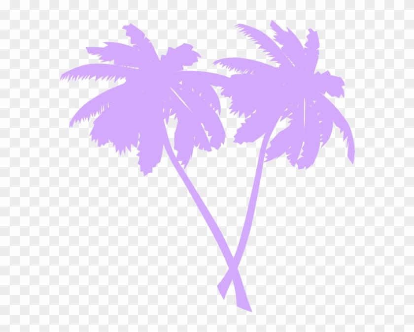 Vector Palm Trees Clip Art At Clker Com Vector Clip - Palm Trees Clip Art #418274