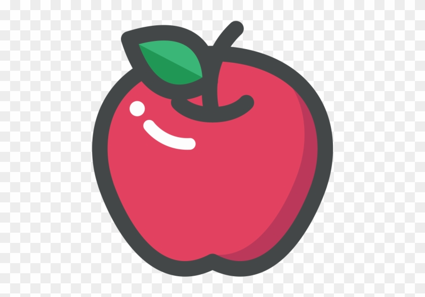 Basket, Fruit Basket, Fruits, Grapes, Pear Icon - Apple Fruit Icon Png #418430