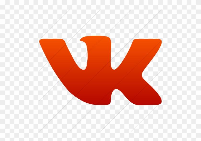 Vk Social Network Logo - Vk Png Red - Free Transparent PNG