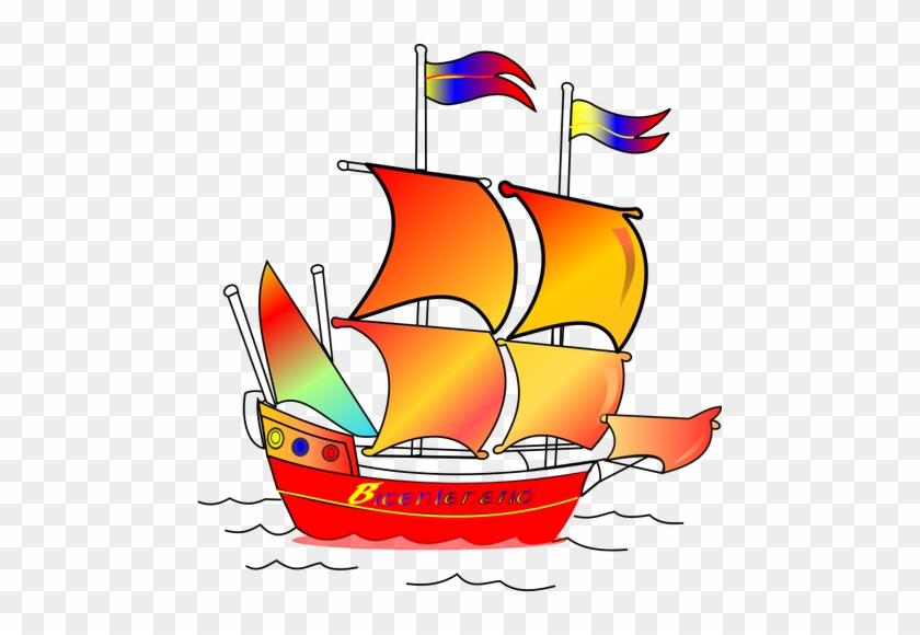 Perahu Layar Warna Warni