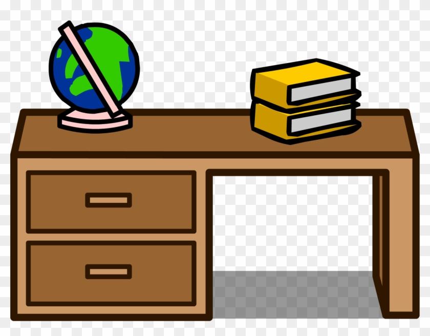 Student Desk Sprite 001 - Clip Art #418747