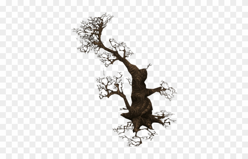 Low Poly Dead Tree Set 3d Model Low-poly Obj Fbx Ma - Illustration #419050