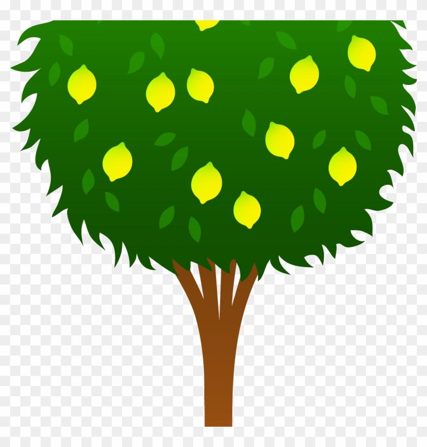 Cute Lemon Tree Free Clip Art - Lemon Tree Clipart #419244