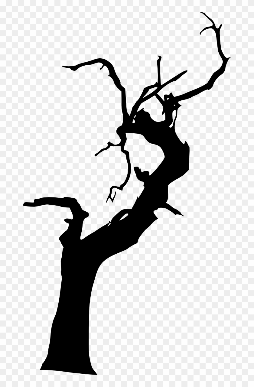 10 Spooky Dead Tree Silhouette Vol - Dead Tree Png #419377