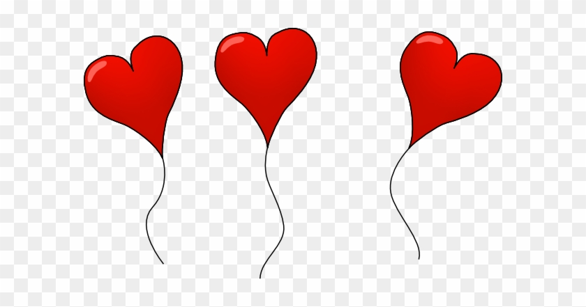 Free Red Balloon Cliparts, Download Free Clip Art, - Draw A Heart Balloon #419473
