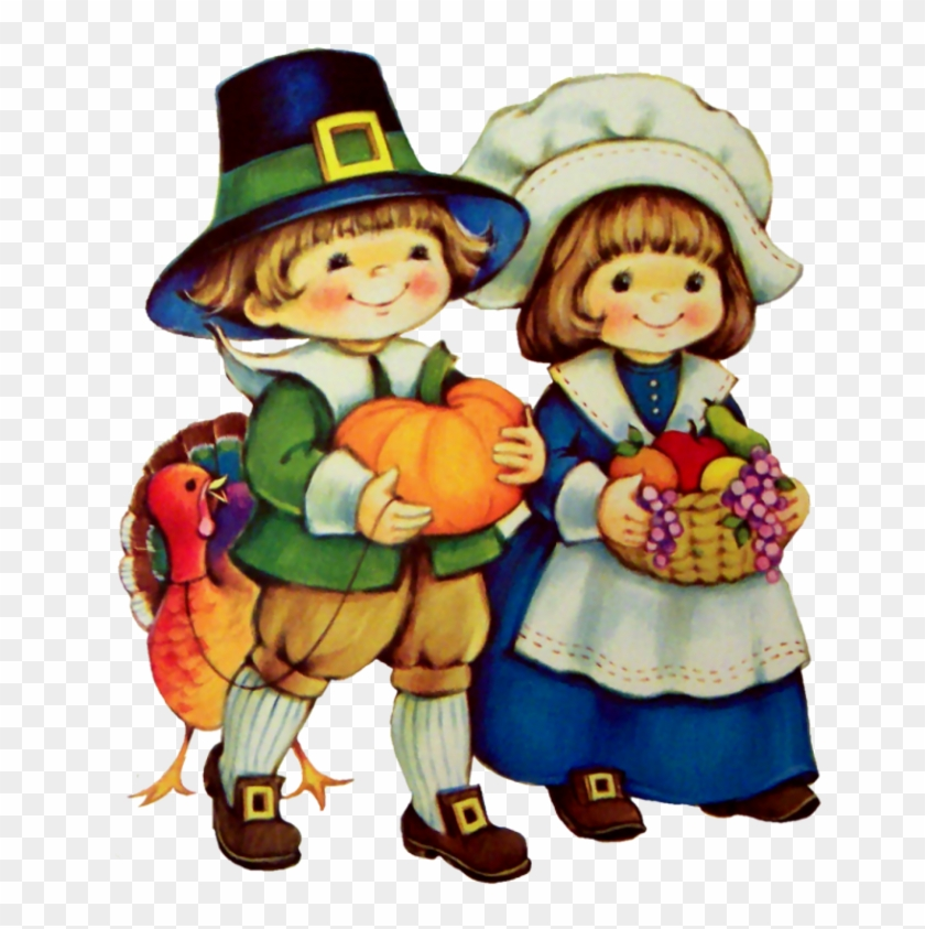 2010 Die Cut Thanksgiving Day With Pilgrim - Personnage De Thanksgiving #419663