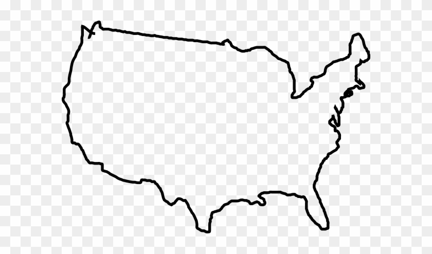 Map Lines Clip Art At Clker Us Map Clipart Free Transparent Png - Us-map-with-lines